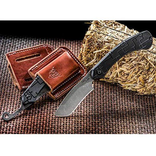 Tops Folding Survival Knife 4 Tops TRAZ-01 Tac Raze Folder