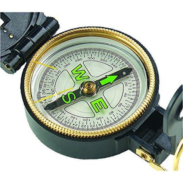 Allen Company Survival Compass 2 Allen Lensatic Compass with Luminous Dial