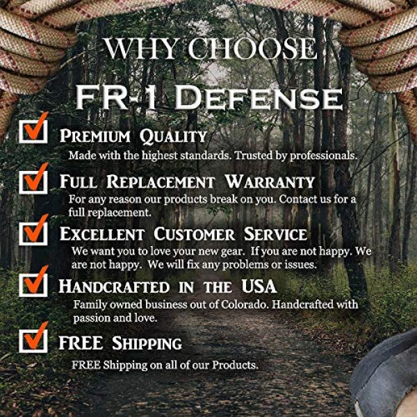 FR-1 Defense Survival Fire Starter 4 FR-1 Defense Tinder Wick Match Stick Fire Starter, Tinder Torch Wicks, Weatherproof Wax Fire Stick Lighter. Great for Camping Gear and Backpacking Gear.