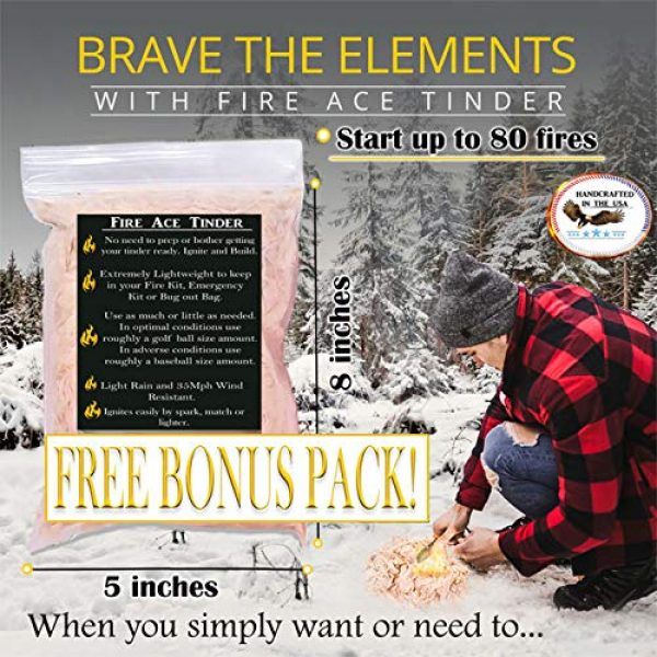 FR-1 Defense Survival Fire Starter 5 FR-1 Defense Fire Starter Ferro Rod, Fire Steel, Fire Starting Tool, 4 Sided Ferrocerium Rod with Colored Paracord Options. Great for Backpacking Gear and Camping Gear.