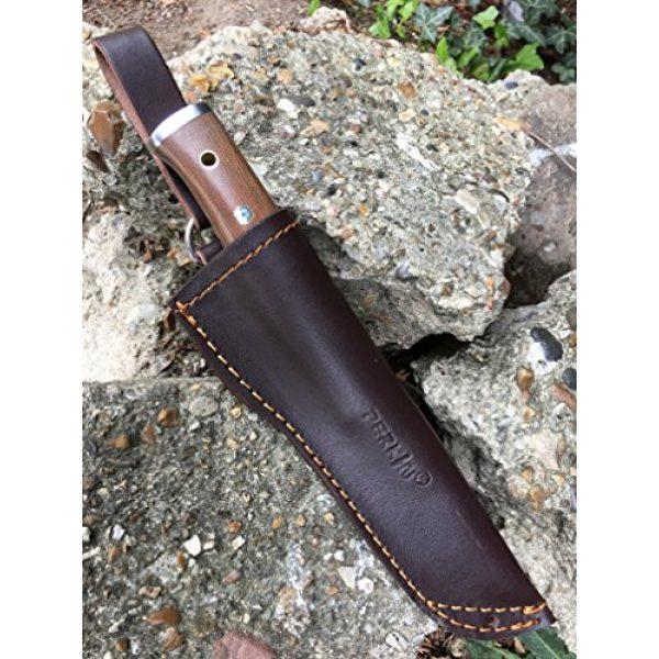 Perkin Fixed Blade Survival Knife 6 Perkin Hunting Knife with Sheath Full Tang bushcraft Knife