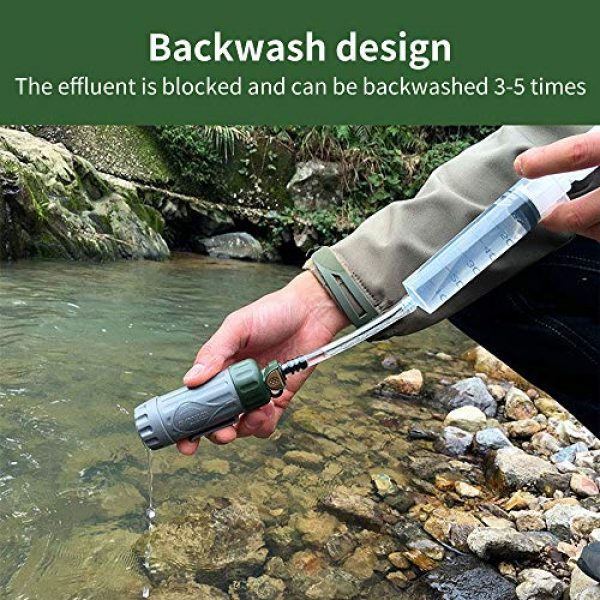 SZHR Survival Water Filter 2 SZHR Outdoor Soldier Multi-Function Water Purifier Soldier Earthquake Emergency Equipment Portable Multi-Function Direct Drinking Water Purifier