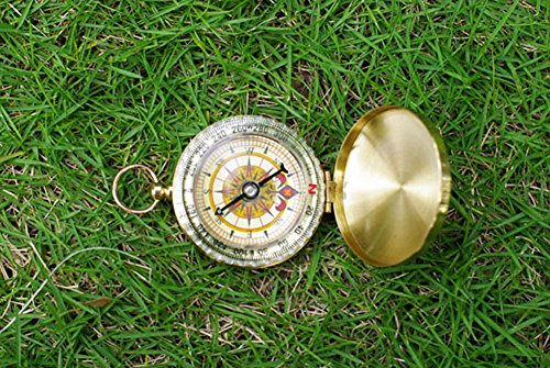 BlueSnail  5 PPbean Classic Pocket Style Camping Compass