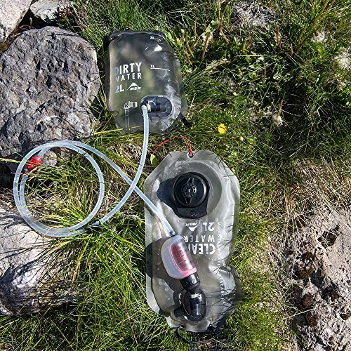 MSR  4 MSR Trail Base Personal Pump and Gravity Water Filter System