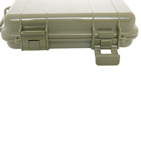 KNC Survival Box 4 KNC 1PCS Outdoor Plastic Waterproof Shockproof Box Airtight Survival Case Container Storage Carry Box