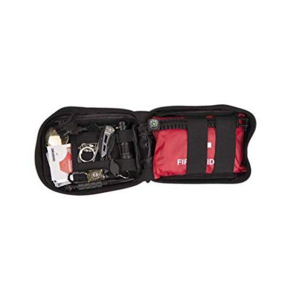 NWGear Survival Kit 7 NWGear 75 in 1 Emergency Survival Kit with First Aid Kit for Car | Emergency Blanket & Flashlight | Rugged Water-Resistant Molle Pouch | and More Survival Gear
