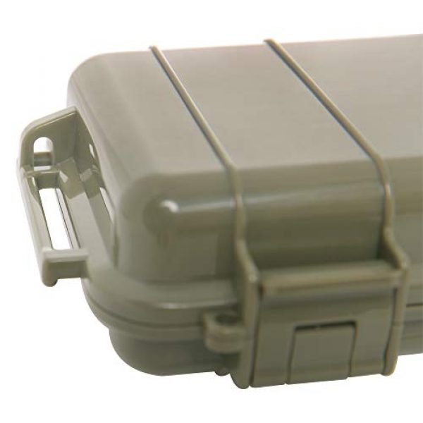 KNC Survival Box 3 KNC 1PCS Outdoor Plastic Waterproof Shockproof Box Airtight Survival Case Container Storage Carry Box