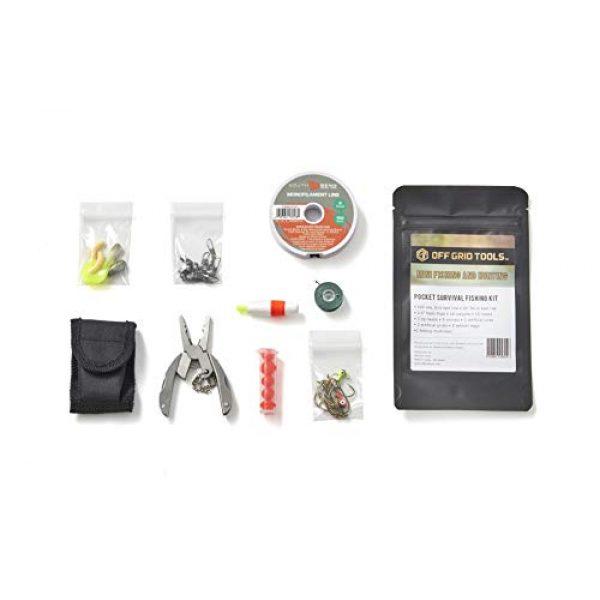 Off Grid Tools Survival Kit 5 OFF GRID TOOLS Mini Fishing B.O.S.S Bug Out Bag Survival Fishing Kit. 45 Piece Fishing Kit