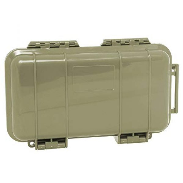 KNC Survival Box 5 KNC 1PCS Outdoor Plastic Waterproof Shockproof Box Airtight Survival Case Container Storage Carry Box