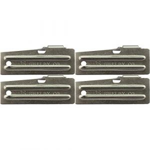 U.S. Shelby Co Can Opener 1 P 51 Military Style Survival Kit Can Opener by US Shelby Co Pack of 4