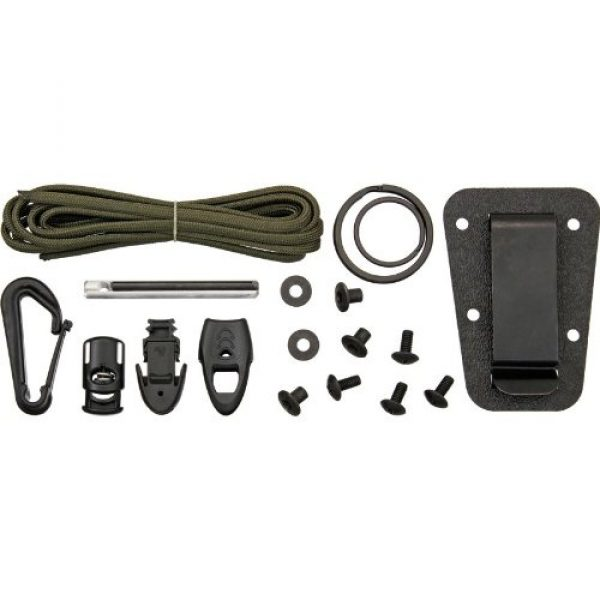 ESEE Fixed Blade Survival Knife 4 ESEE Knives Izula Fixed Blade Knife w/Survival Kit, Sheath & Clip Plate