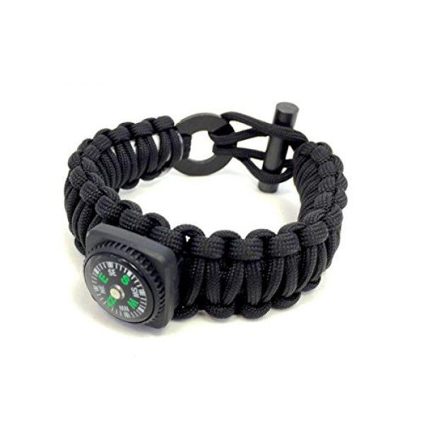 LAST MAN Survival Kit 2 Last Man The Ultimate Paracord Survival Kit Bracelet Survival Gear
