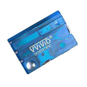 VViViD Survival Kit 1 VViViD Pocket Card Compact Emergency Survival Multitool Kit