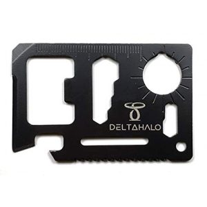 DeltaHalo Survival Tool 1 DeltaHalo | Credit Card Multitool for Camping and Emergencies | Survival tool perfect for bug-out bags or survival kits. | American Seller!!