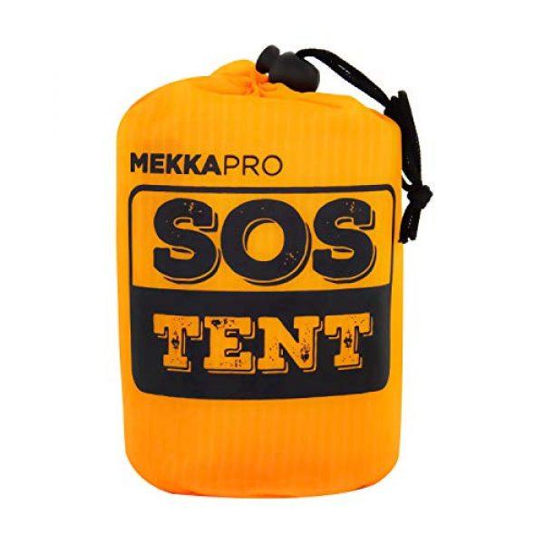 MEKKAPRO Survival Kit 1 MEKKAPRO Emergency Survival Tent Shelter - 2 Person Tent - Survival Emergency Shelter, Tube Tent, Tarp