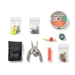 Off Grid Tools Survival Kit 1 OFF GRID TOOLS Mini Fishing B.O.S.S Bug Out Bag Survival Fishing Kit. 45 Piece Fishing Kit