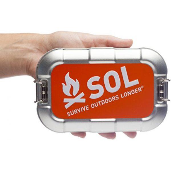 S.O.L. Survive Outdoors Longer Survival Kit 6 S.O.L. Survive Outdoors Longer S.O.L. Traverse Tin Survival Kit