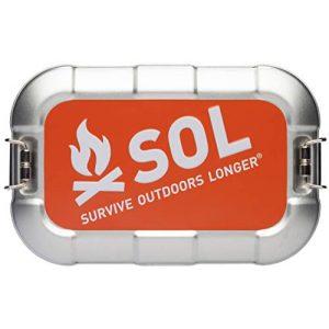 S.O.L. Survive Outdoors Longer Survival Kit 1 S.O.L. Survive Outdoors Longer S.O.L. Traverse Tin Survival Kit