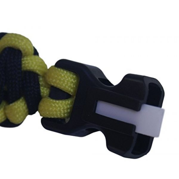 OutNowTech Survival Bracelet 3 OutNowTech Paracord Survival Bracelet with Whistle and Fire Starter - Easy to Carry Emergency Survival Gear Kit - Unravels to Provide 10ft of Paracord 550