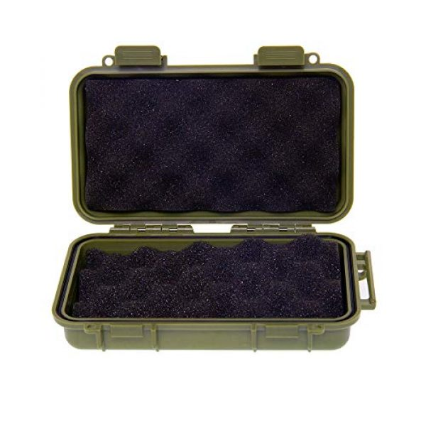 KNC Survival Box 2 KNC 1PCS Outdoor Plastic Waterproof Shockproof Box Airtight Survival Case Container Storage Carry Box
