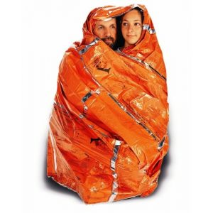 Adventure Medical Kits Survival Medical Blanket 1 Adventure Medical Kits Heatsheets Survival Blanket For Two Person, (Pack of 2)