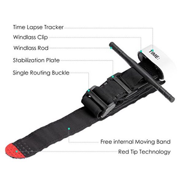 Yinuoday Tourniquet 3 Yinuoday Outdoor Emergency Tourniquet Medical Military Emergency Tourniquet Strap First Aid Tactical Medic Life Saving Hemorrhage Control