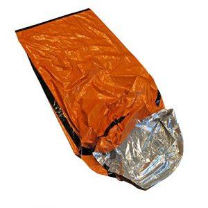 Better Outdoor Survival Sleeping Bag 1 Better Outdoor Emergency Sleeping Bag Thermal Bivvy - Use as Emergency Bivy Bag, Survival Sleeping Bag, Mylar Emergency Blanket, Survival Gear