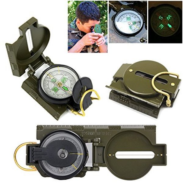Tianers Survival Kit 2 Tianers Emergency Survival Kit 16 in 1, Upgrade Compact Survival Gear, Tactical Survival Tool for Cars, Camping, Hiking, Hunting, Adventure Accessorie (Survival Kit 11 in 1)