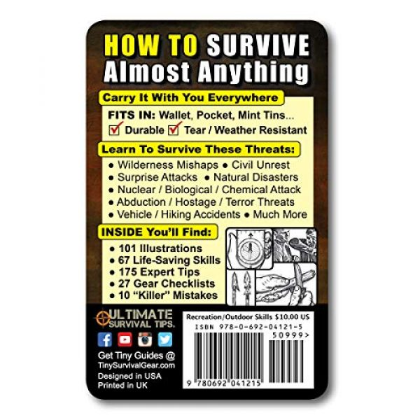 ULTIMATE SURVIVAL TIPS BE PREPARED-BECAUSE YOU NEVER KNOW Survival Guide 2 Tiny Survival Guide: A Life Insurance Policy in Your Pocket - The Ultimate Survive Anything Everyday Carry: Emergency, Disaster Preparedness Micro-Guide