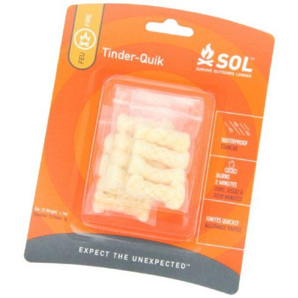 S.O.L. Survive Outdoors Longer Survival Kit 3 S.O.L. Survive Outdoors Longer Tinder Quik Fire Starters (12-Count)