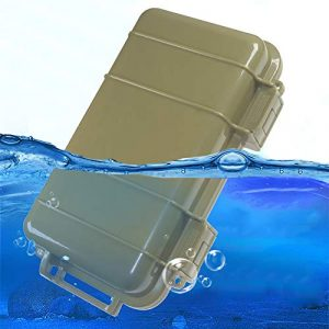 KNC Survival Box 1 KNC 1PCS Outdoor Plastic Waterproof Shockproof Box Airtight Survival Case Container Storage Carry Box