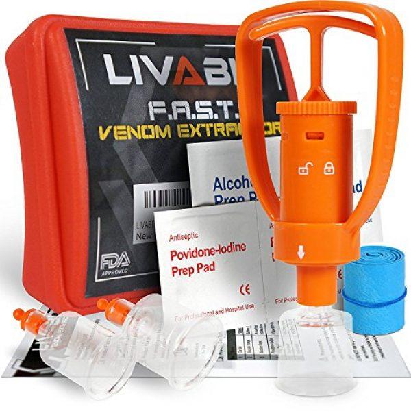 LIVABIT Survival Kit 2 LIVABIT Dual Pack First Response Safety Tool Emergency Kit Venom Sting Extractor Pump & SOS Survival Multi Tool Pack