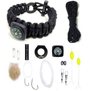 LAST MAN Survival Kit 1 Last Man The Ultimate Paracord Survival Kit Bracelet Survival Gear