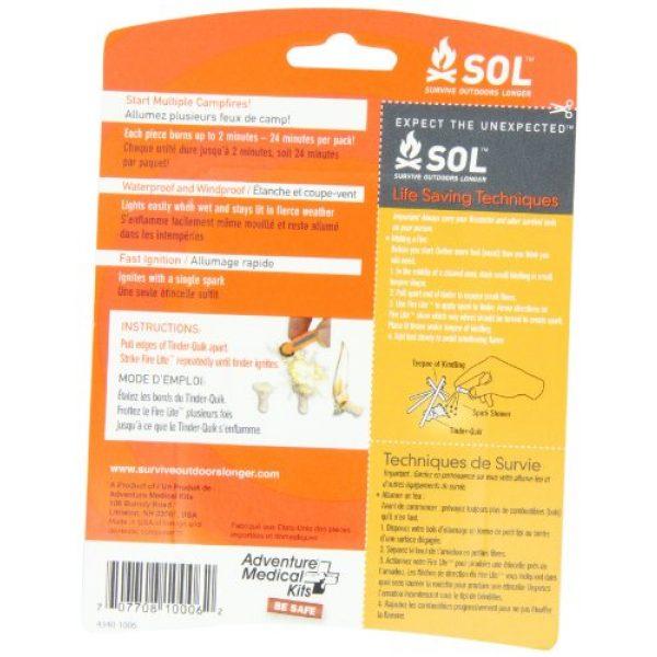 S.O.L. Survive Outdoors Longer Survival Kit 2 S.O.L. Survive Outdoors Longer Tinder Quik Fire Starters (12-Count)