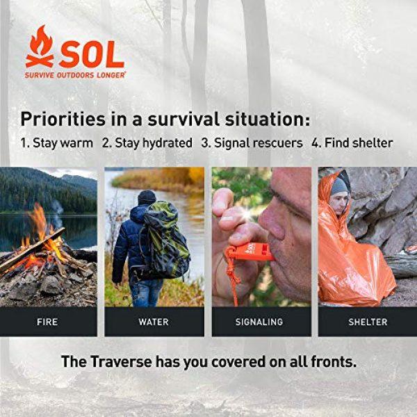 S.O.L. Survive Outdoors Longer Survival Kit 5 S.O.L. Survive Outdoors Longer S.O.L. Traverse Tin Survival Kit