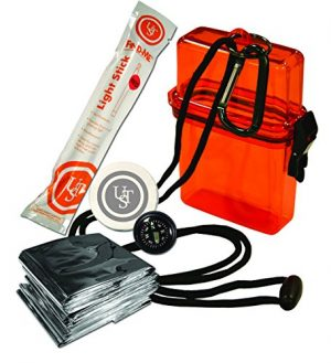 UST  1 UST Watertight Survival Kit 1.0 with Durable