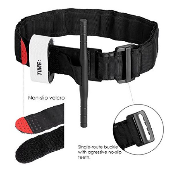Yinuoday Tourniquet 4 Yinuoday Outdoor Emergency Tourniquet Medical Military Emergency Tourniquet Strap First Aid Tactical Medic Life Saving Hemorrhage Control