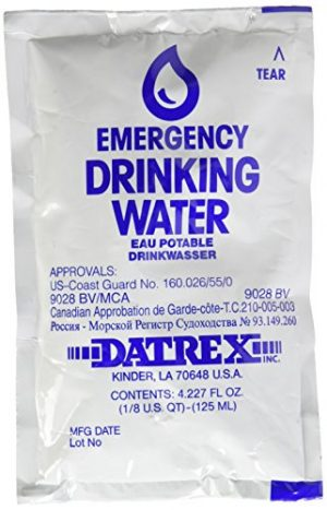 Datrex  1 DATREX Emergency Water Pouch for Disaster or Survival