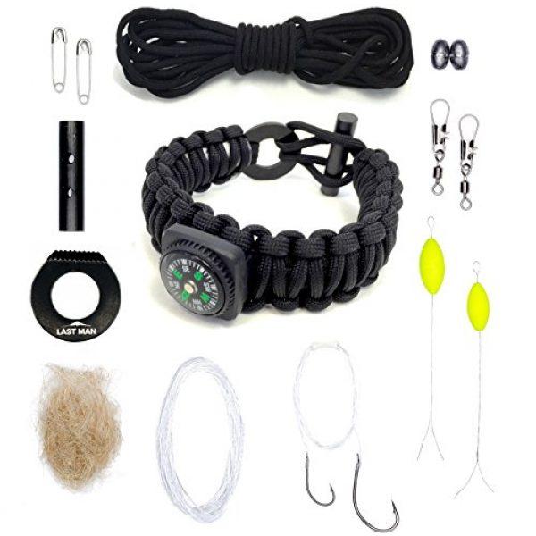 LAST MAN Survival Kit 3 Last Man The Ultimate Paracord Survival Kit Bracelet Survival Gear