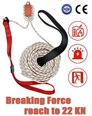 MODE Survival Rope Descender 1 MODE Rescue Fire Escape Rope Descender Device Personal Building Emergency Evacuation Exit 98ft. 9 Story