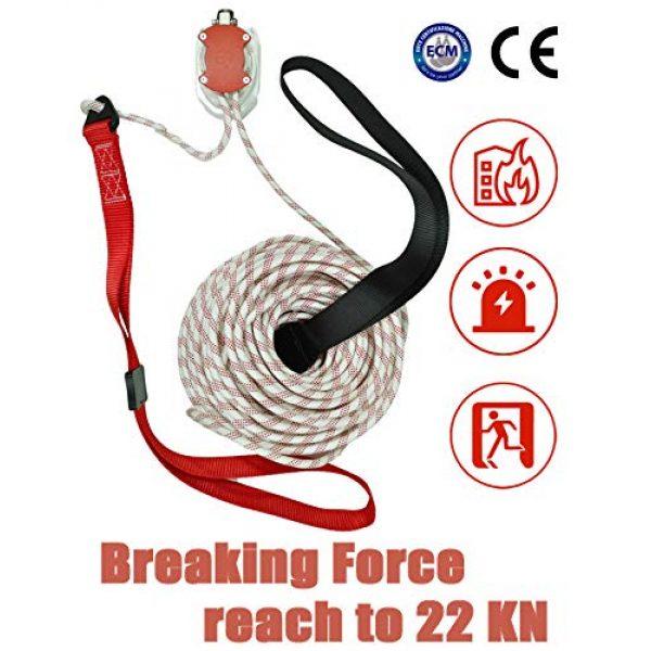 MODE Survival Rope Descender 1 MODE Rescue Fire Escape Rope Descender Device Personal Building Emergency Evacuation Exit 98ft. 9 Story