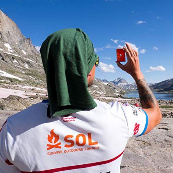 S.O.L. Survive Outdoors Longer Survival Mirror 5 S.O.L. Survive Outdoors Longer Rescue Flash Mirror, 0140-1003