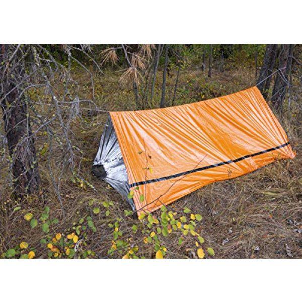 MEKKAPRO Survival Kit 6 MEKKAPRO Emergency Survival Tent Shelter - 2 Person Tent - Survival Emergency Shelter, Tube Tent, Tarp