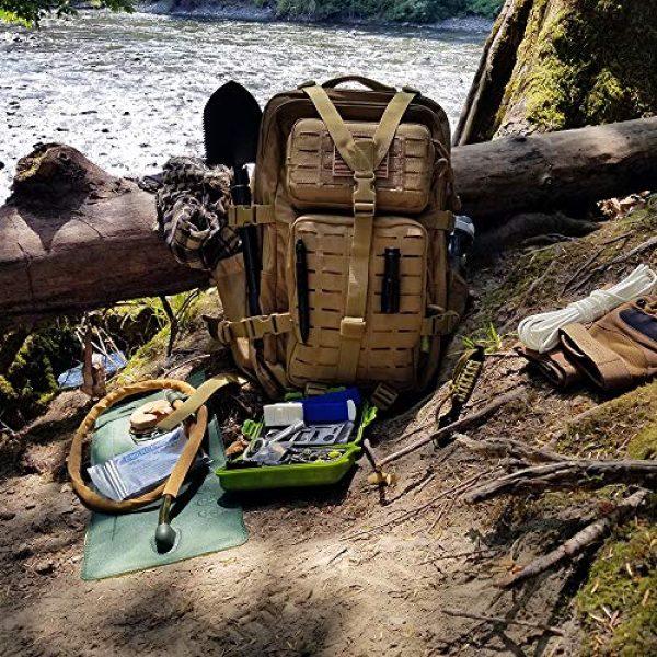 Gearrific Survival Kit 5 Gearrific 26-Piece Watertight Survival Kit, Compact Car Emergency Set