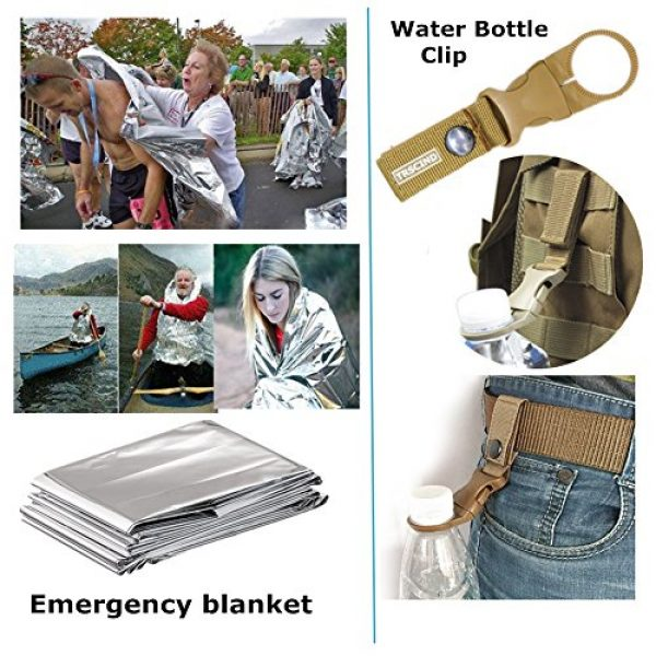 TRSCIND Survival Kit 6 Gifts for Dad Men Him Husband Fathers Day, Survival Gear and Equipment, Survival Kit 11-in-1, Birthday Gifts for Men Boyfriend Teen Boy, Fun Gadget, Men Gifts Ideas, Official EDC Survival Kit