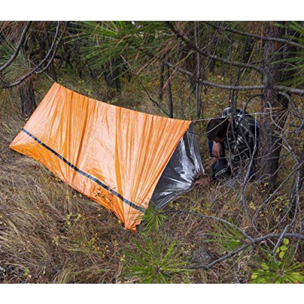 MEKKAPRO Survival Kit 7 MEKKAPRO Emergency Survival Tent Shelter - 2 Person Tent - Survival Emergency Shelter, Tube Tent, Tarp