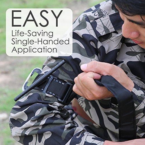 Yinuoday  6 Yinuoday Outdoor Emergency Tourniquet Medical Military Emergency Tourniquet Strap First Aid Tactical Medic Life Saving Hemorrhage Control