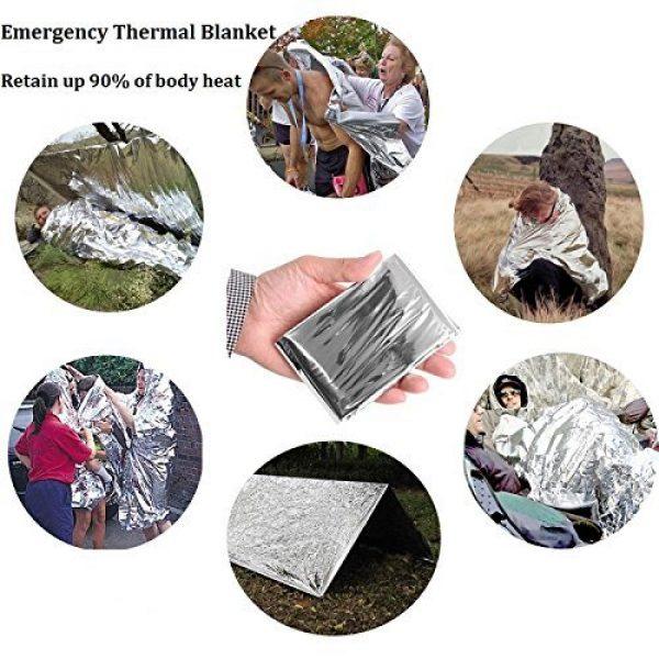 EILIKS Survival Kit 3 CHANGKU EILIKS Emergency Survival Kits 11 in 1, CHANGKU Multi Professional Tactical Kit Outdoor Survival Gear Kit for Traveling Hiking Biking Climbing Hunting