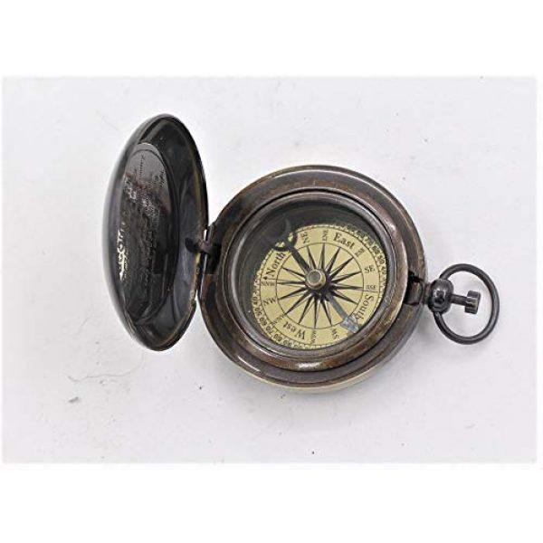 Roorkee Instruments India Survival Compass 2 ROORKEE INSTRUMENTS (INDIA) A NAUTICAL REPRODUCTION HOUSE Antique Brass Compass,Pocket Compass, Outdoor Compass,Camping Compass, Hiking Compass, Hunting Compass, Survival Compass, Tools