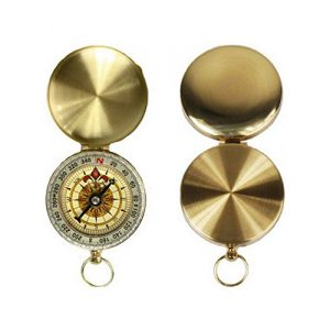 Snowmanna Survival Compass 1 Snowmanna-Portable Vintage Old Style Compass Pocket Watch Style Multifunction Fluorescence Compass Navigation for Outdoor Sports Camping Hiking